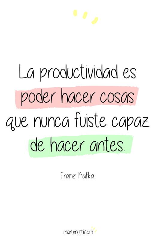 ¿Necesitas inspiración? Haz click en la imagen para descubrir más frases que motiven tu productividad #productividad #procrastinacion #motivacion